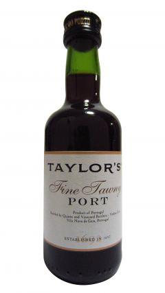 Port - Taylor's Fine Tawny Miniature Whisky