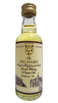 Secret Highlands - The Delnabo Miniature 12 year old Whisky