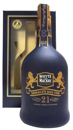 Whyte + Mackay - Special Reserve 21 year old Whisky