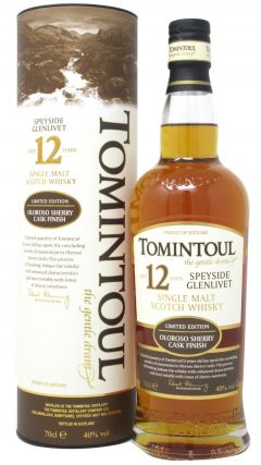Tomintoul - Oloroso Sherry Cask Finish 12 year old Whisky