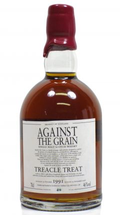 Against The Grain - Treacle Treat  - 1991 17 year old Whisky