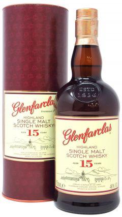 Glenfarclas - Single Highland Malt 15 year old Whisky
