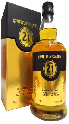 Springbank - 2015 Special Release 21 year old Whisky