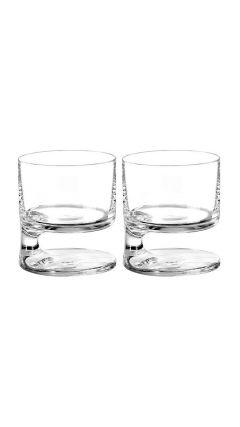 Smoke Joe Colombo Double Old Fashion Glass (Twin Pack)