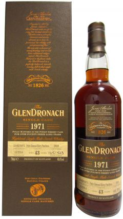 GlenDronach - Single Cask #2920 (batch 11) - 1971 43 year old Whisky