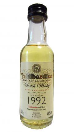 Tullibardine - Single Highland Malt Miniature - 1992 Whisky