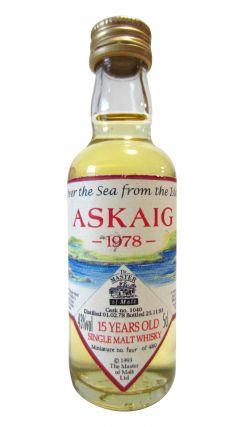 Secret Islay - Askaig Single Cask Miniature - 1978 15 year old Whisky