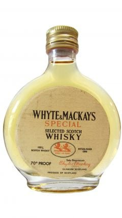 Whyte + Mackay - Special Selected Scotch Miniature Whisky