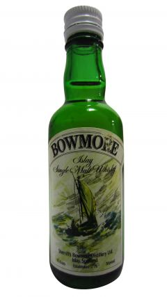 Bowmore - Sherriffs Sailing Ship Miniature 8 year old Whisky