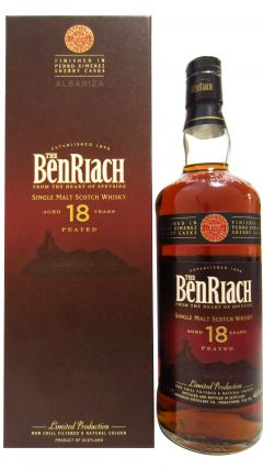 BenRiach - Albariza Peated Sherry Cask Finish 18 year old Whisky