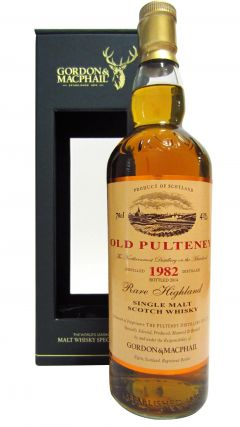 Old Pulteney - Rare Highland Single Malt - 1982 32 year old Whisky