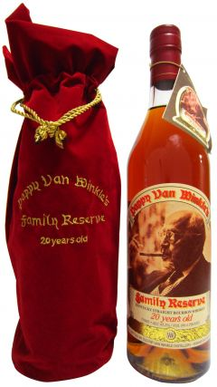 Pappy Van Winkle - Family Reserve Kentucky Straight 20 year old Whiskey