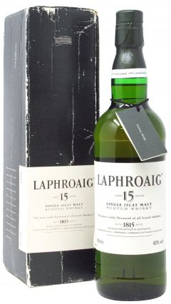 Laphroaig - Single Islay Malt 15 year old Whisky