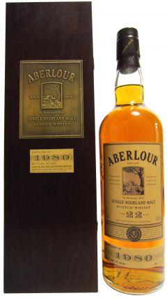 Aberlour - Single Highland Malt - 1980 22 year old Whisky