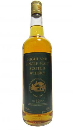 Glen Garioch - 100 Years of The West Highland Line 1894-1994 12 year old Whisky