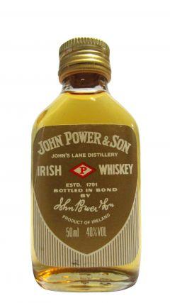 Midleton - John Power & Son Pot Still Gold Label Miniature Whiskey