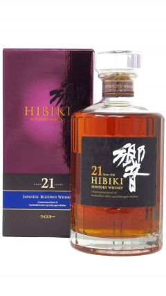 Hibiki - Japanese Blended Whisky 21 year old Whisky