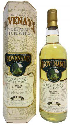 Rosebank (silent) - Provenance Spring Distillation - 1990 10 year old Whisky