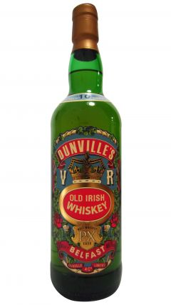 Bushmills - Dunvilles PX Cask Old Irish 10 year old Whiskey