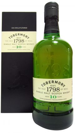 Tobermory - Single Malt Scotch 10 year old Whisky