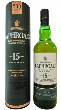 Laphroaig - 200th Anniversary  15 year old Whisky