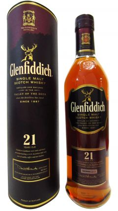 Glenfiddich - Caribbean Rum Cask 21 year old Whisky