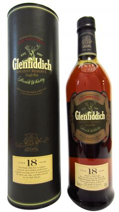 Glenfiddich - Ancient Reserve (old bottling) 18 year old Whisky