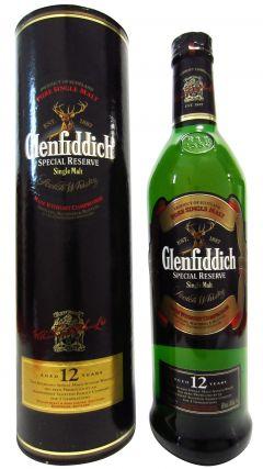 Glenfiddich - Special Reserve (old bottling) 12 year old Whisky