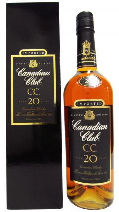Canadian Club - Limited Edition Black Label 20 year old Whisky