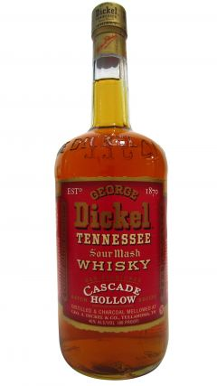 George Dickel - Cascade Hollow (old bottling) Whiskey