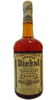 George Dickel - Tennessee No.12 Superior (old bottling) Whiskey
