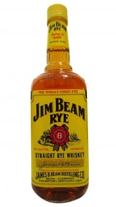 Jim Beam - Straight Rye (old bottling) Whiskey