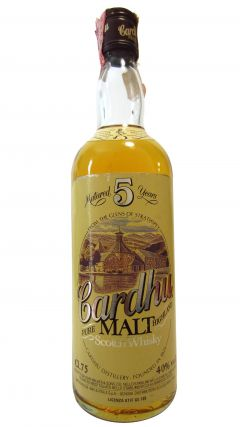 Cardhu - Pure Highland Malt 5 year old Whisky