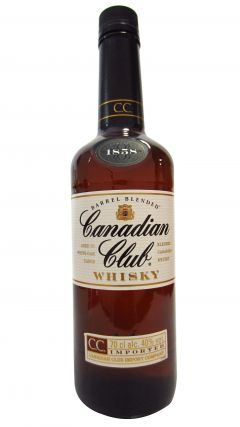 Canadian Club - Barrel Blended (old bottling) Whisky