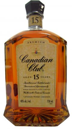 Canadian Club - Premium Decanter 15 year old Whisky