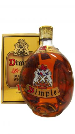 Dimple - DeLuxe Scotch (old bottling) 12 year old Whisky