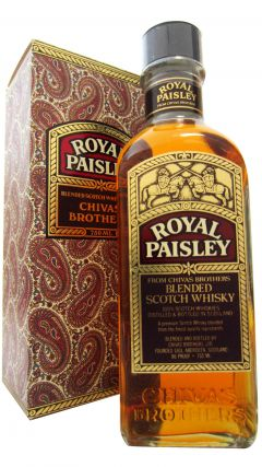 Chivas Regal - Royal Paisley Scotch Whisky