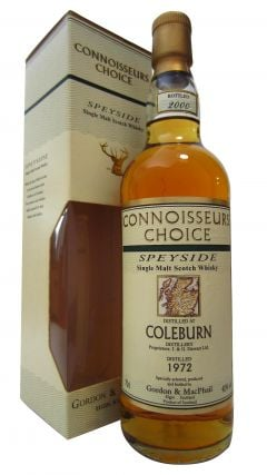 Coleburn (silent) - Connoisseurs Choice - 1972 28 year old Whisky