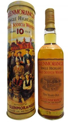 Glenmorangie - Single Highland Malt (old bottling) 10 year old Whisky