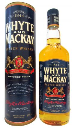 Whyte + Mackay - Matured Twice Scotch Whisky