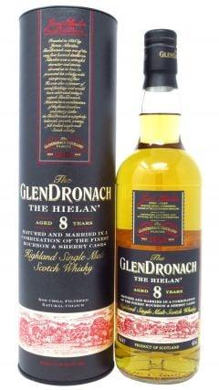 GlenDronach - The Hielan (The Highland) 8 year old Whisky