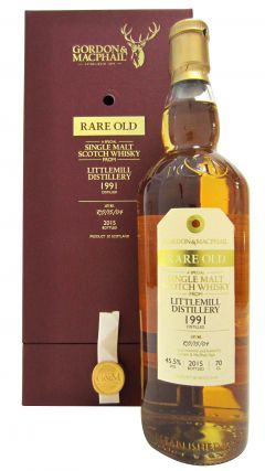 Littlemill (silent) - Rare Old - 1991 23 year old Whisky