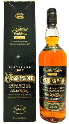 Cragganmore - The Distillers Edition 1987 - 1987 14 year old Whisky