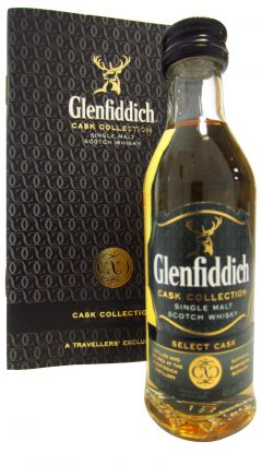 Glenfiddich - Select Cask Promo Pack Miniature Whisky