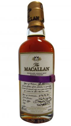 Macallan - 2011 Easter Elchies Miniature - 1997 14 year old Whisky