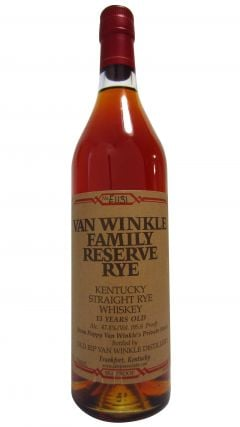 Pappy Van Winkle - Family Reserve Rye 13 year old Whiskey