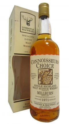 Millburn (silent) - Connoisseurs Choice - 1971 Whisky