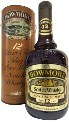 Bowmore - Islay Pure Malt Scotch (old bottling) 12 year old Whisky