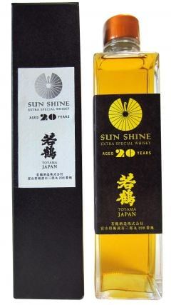 Wakatsuru - Sun Shine Extra Special (30cl bottle) 20 year old Whisky