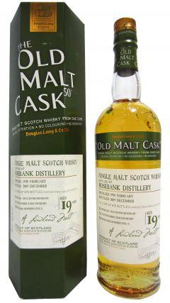 Rosebank (silent) - Old Malt Cask 50 - 1990 19 year old Whisky